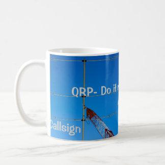 Amateur Radio QRP and Callsign Mug 3