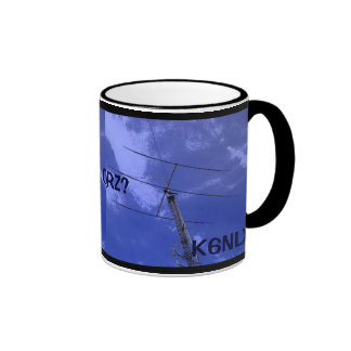 Amateur Radio QRZ and Callsign Mug