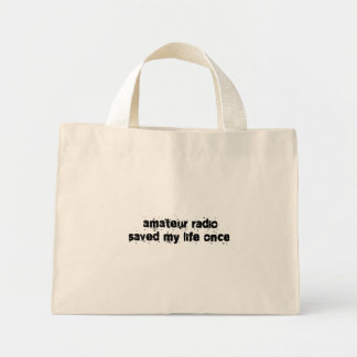 Amateur Radio Saved My Life Once Tote Bags