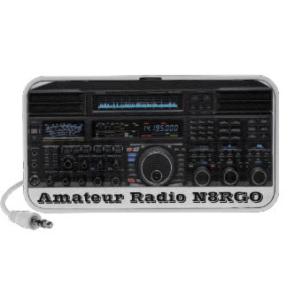 Amateur Radio Speakers With Call Sign