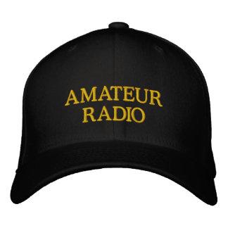 AMATEURRADIO EMBROIDERED BASEBALL CAP
