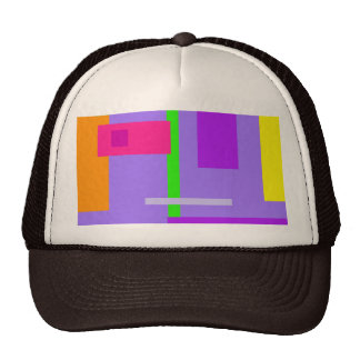 Amatista colorida simplista del diseño gorros bordados