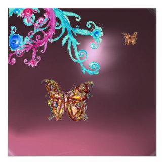 AMATISTA de la MARIPOSA, rosado brillante azul Anuncios
