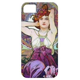 Amatista de Mucha iPhone 5 Case-Mate Cobertura