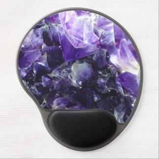Amatista púrpura alfombrilla con gel