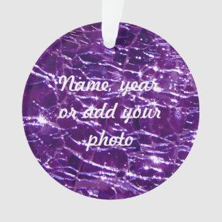 Amatista púrpura de cristal Crackled de Birthstone