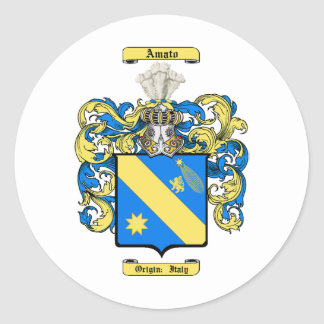 Amato Classic Round Sticker