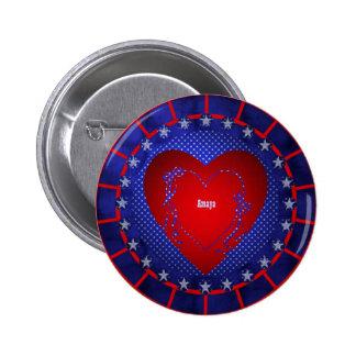 Amaya Pinback Button