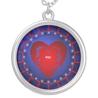 Amaya Round Pendant Necklace