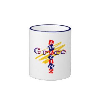 Amaz Grace 1 Ringer Coffee Mug
