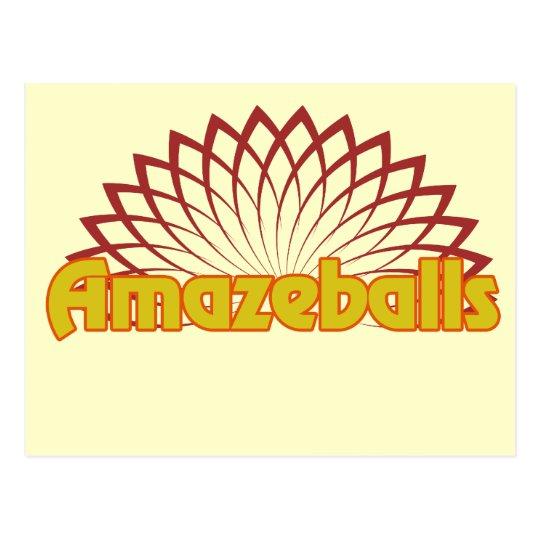 Amazeballs Postcard