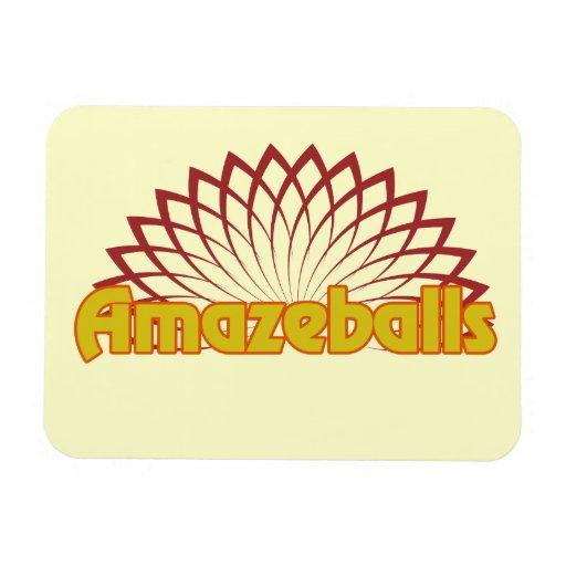 Amazeballs Rectangular Photo Magnet