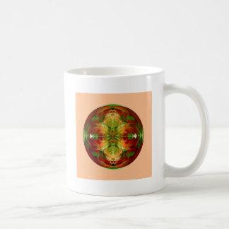 Amazed on pink coffee mug