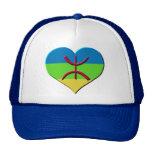 Amazigh del corazón, kabyle, berbere gorros