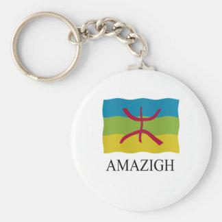 Amazigh Flag Keychain