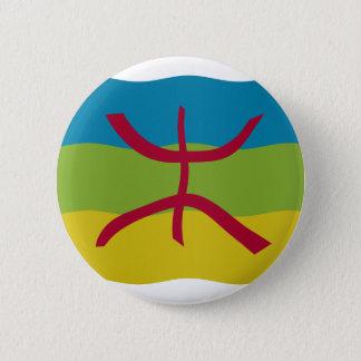 Amazigh Flag Pinback Button