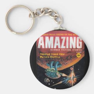 Amazing - 1959.10_Pulp Art Keychain