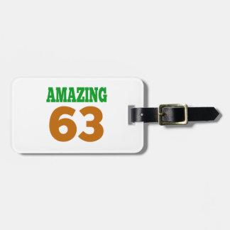 Amazing 63 travel bag tags