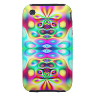 Amazing Abstract Colors Psychedelic Art iPhone 3 Tough Case