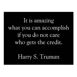 truman accomplishments