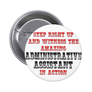 Amazing Administrative Asst In Action Buttons