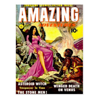 Amazing Adventures 1 Post Cards