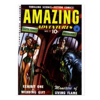 Amazing Adventures #2 - Exhibit One Postcard