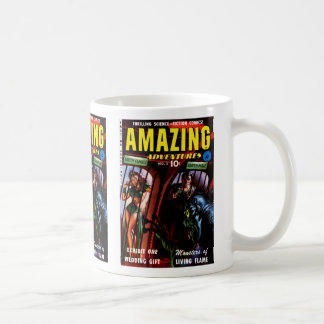 Amazing Adventures #2 Retro Sci Fi Comic Book Coffee Mug