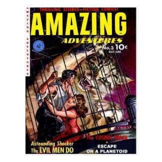 Amazing Adventures 3 Post Card