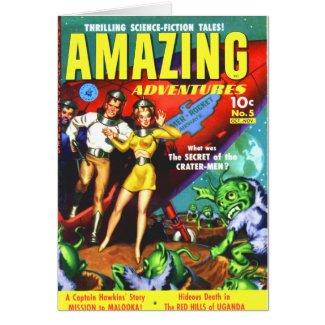 Amazing Adventures -- Secret of the Crater Men Card