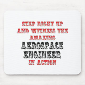 Amazing Aerospace Engineer In Action Mousepads