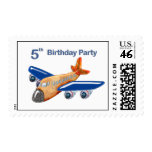 Amazing Airplane 5th Birthday Stamps
