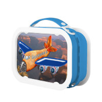Amazing Airplane Aerial View Lunch Box