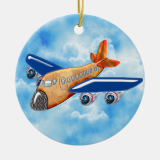 Amazing Airplane Christmas Tree Ornament