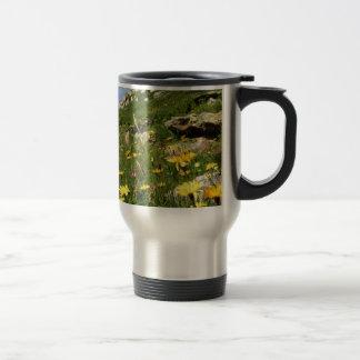 Amazing! Alpine flowers 15 Oz Stainless Steel Travel Mug