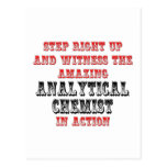 Amazing Analytical Chemist In Action Post Cards