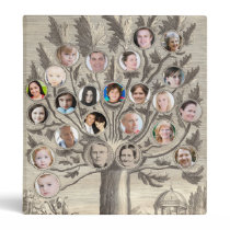 Amazing Antique Family Tree - Add up to 48 Photos Binder