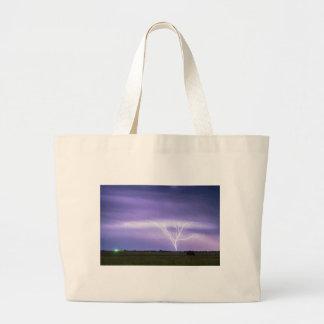 AMAZING Anvil Lightning Creepy Crawlers Large Tote Bag