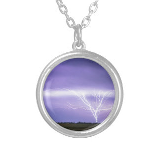 AMAZING Anvil Lightning Creepy Crawlers Silver Plated Necklace
