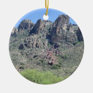 Amazing Apache Trail Ceramic Ornament