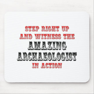 Amazing Archaeologist In Action Mouse Pad