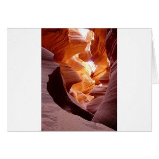 Amazing Arizon Antelope Canyon Card