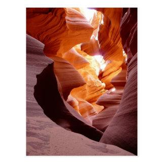 Amazing Arizon Antelope Canyon Postcard