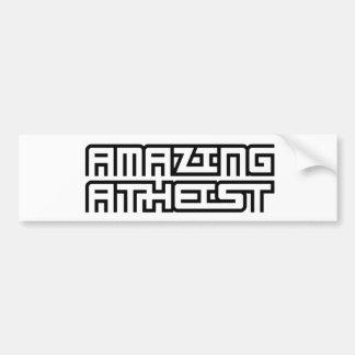 Amazing Atheist Bumper Sticker