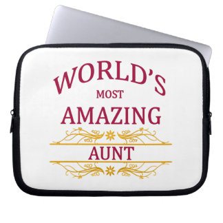 Amazing Aunt Laptop Sleeve