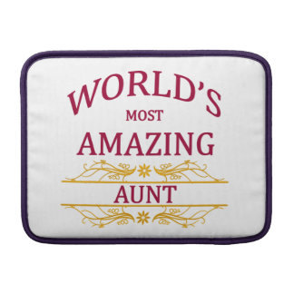 Amazing Aunt MacBook Air Sleeve