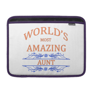 Amazing Aunt MacBook Sleeve
