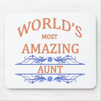 Amazing Aunt Mouse Pad