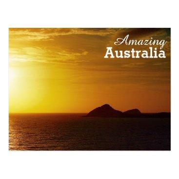 Beach Themed Amazing Australia postcard