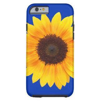 Amazing Autumn Beauty Sunflower Tough iPhone 6 Case